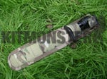 "Sheath, Knife or Bayonet, 7"" Mad Jack, Multicam, MOLLE, BRITTAC"