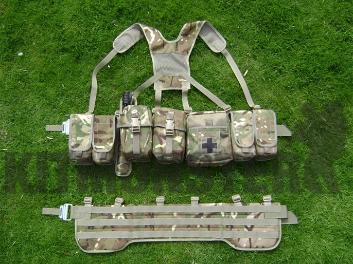 Airborne Webbing, MOLLE, Complete, MTP, Option Delta (sizes)
