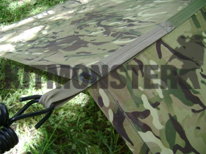 Army Issue Basha shelter new or very near new condition from UK Military surplus. & Basha u0027Shelter Sheetu0027 MTP UK Issue Surplus (new) Kit Monster