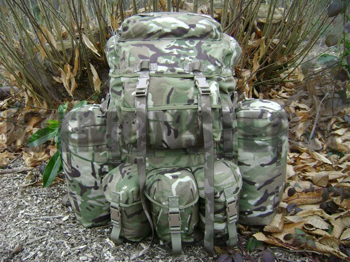 Bergen Plce Infantry Mtp Short Modified New Ht