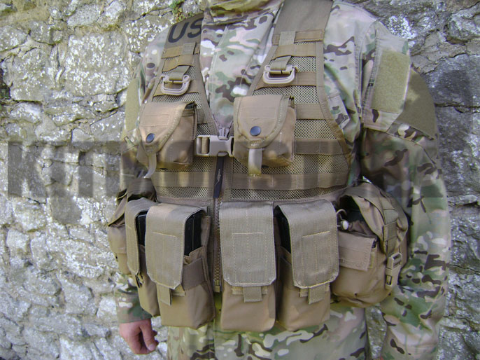 2x US Modular System Molle II Army Mag Magazin pouch Tasche coyote tan