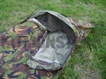 Bivi Bag, Bivvy, Gore Tex, Hooped & Zipped, Dutch DPM, Used