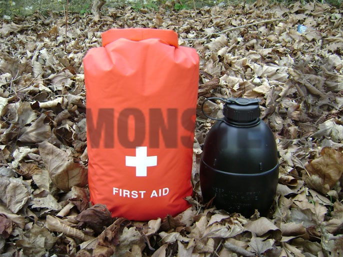 Drybag, Exped, First Aid, Medical, 5 Litres, Red, Medium