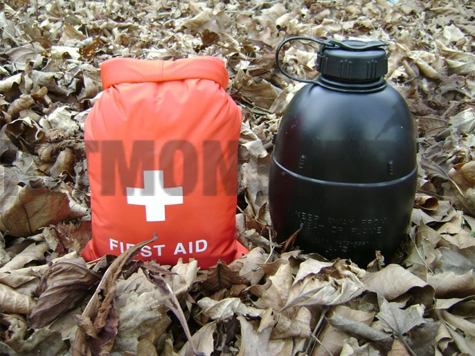 Drybag, Exped, First Aid, Medical, 1.25 Litre, Red, Small