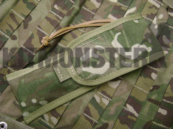 Sheath, Slip, Pouch, MOLLE, Laplander Folding Saw, Closed, Multi