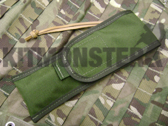 Sheath, Slip, Pouch, MOLLE, Laplander Folding Saw, Closed, OG