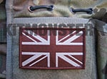 Flag Patch, Large, Velcro, Dark Earth