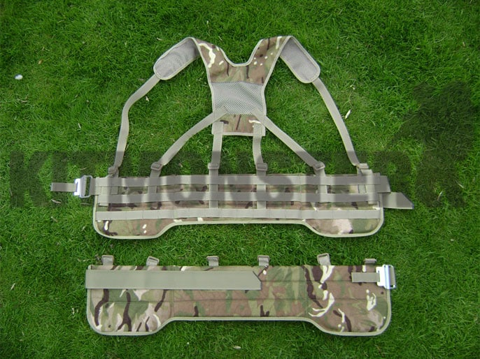 Hip Pad Molle Aamber Mtp Vanguard Kit Monster