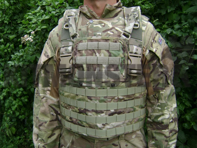 Chest Rig Base, Multicam, MOLLE, OS