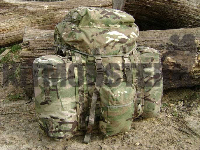Bergen, PLCE Infantry, MTP, Short Back, New (Side Pocket ...