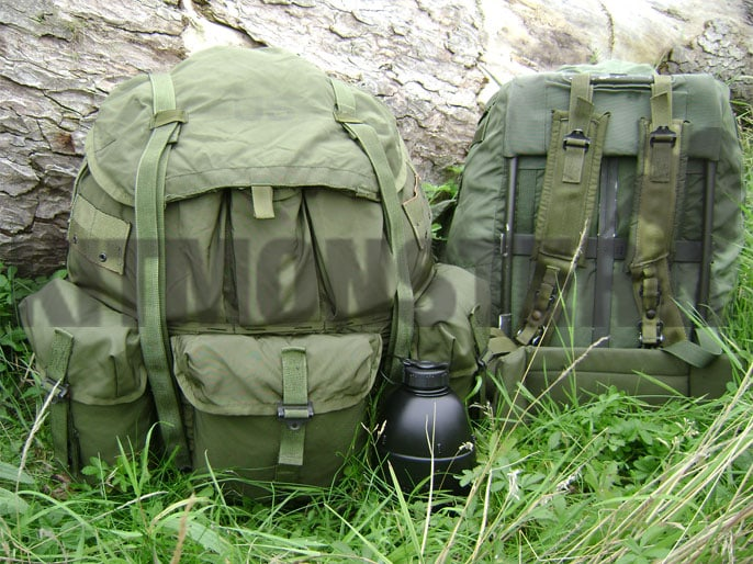 Pack, ALICE, Large, With Frame, US Issue, OG, Used, Kit Monster