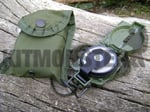 Compass, Lensatic, US Military Issue, With Pouch, New