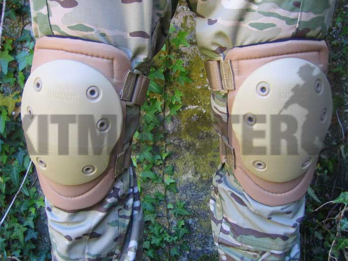 Knee Pads, Hellstorm, Advanced Tactical V2, Tan, Blackhawk!