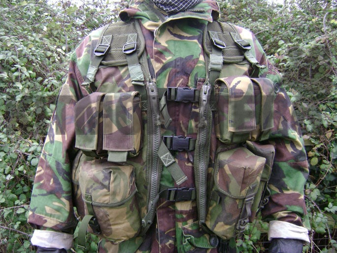 Assault Vest (MOD Pattern) Modified (SMK), DPM, Surplus